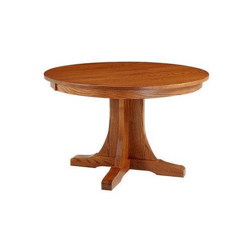 ... Amish Made Old Mission Round/oval Pedestal Table ...