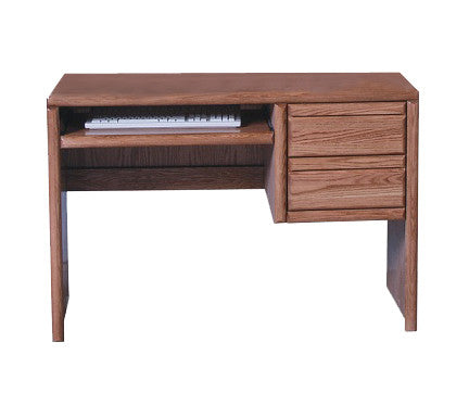 "FD-1011 - Contemporary Oak 44"" Computer Desk - Oak For Less® Furniture"