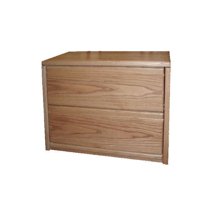 FD-1035 - Contemporary Oak 2 Drawer Lateral File - Oak For Less® Furniture