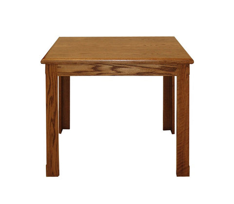 "FD-1100 - Contemporary Oak Writing Desk 34"" - Oak For Less® Furniture"