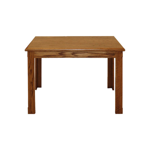 "FD-1101 - Contemporary Writing Desk Oak 40"" - Oak For Less® Furniture"