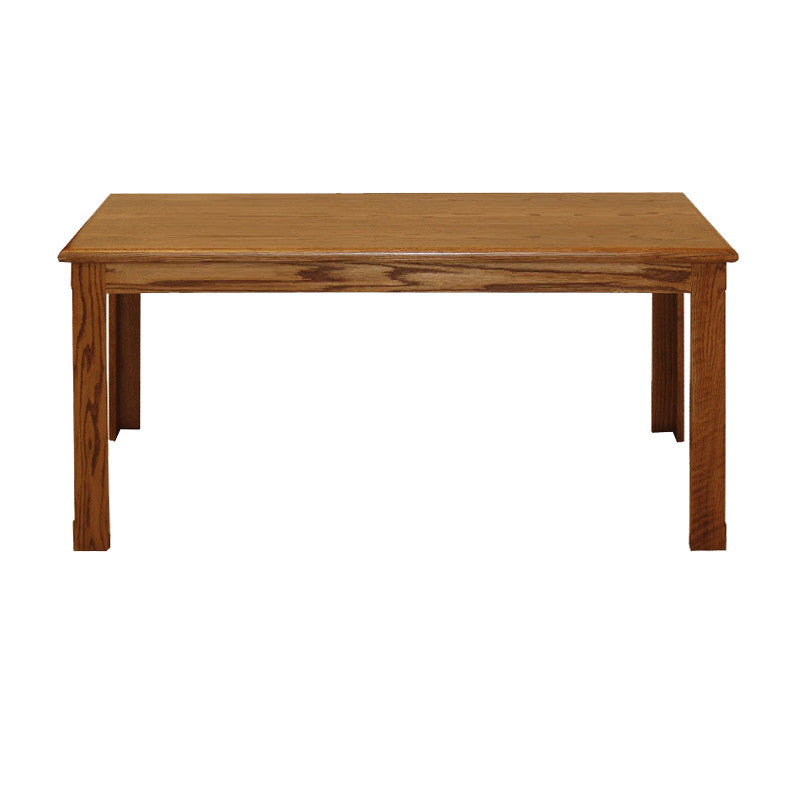 "FD-1106 - Contemporary Writing Desk Oak 70"" - Oak For Less® Furniture"