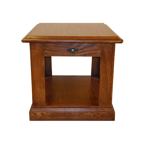 FD-2115M - Mission Oak End Table - Oak For Less® Furniture