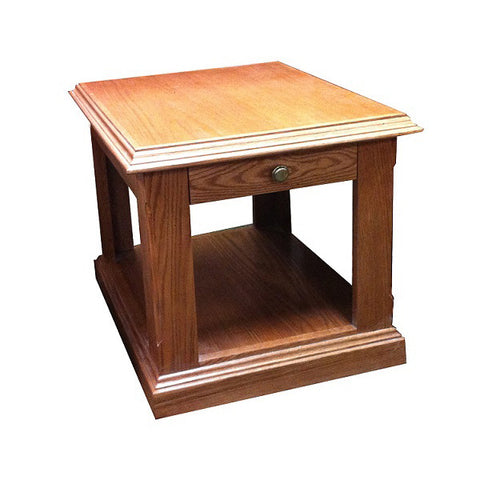 FD 2115T   Traditional Oak End Table