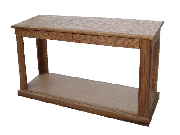 FD-2130 - Contemporary Oak Sofa Console Table - Oak For Less® Furniture