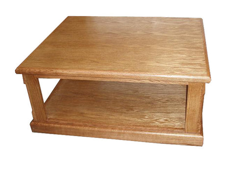 FD-2150 - Contemporary Oak Coffee Table - Oak For Less® Furniture