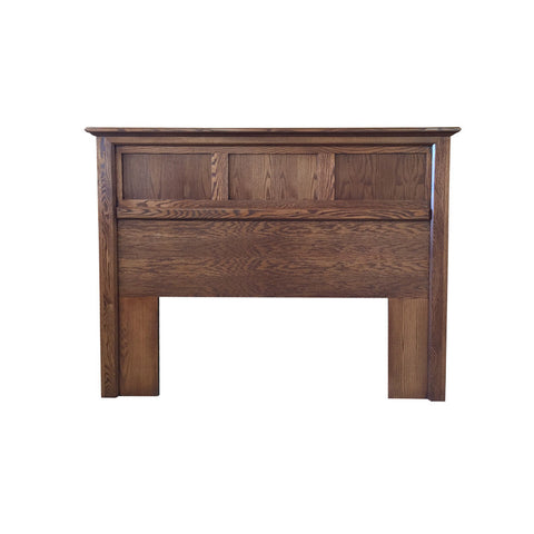 FD-3005H-M - Mission Oak Flat Panel Headboard - Twin size - Oak For Less® Furniture