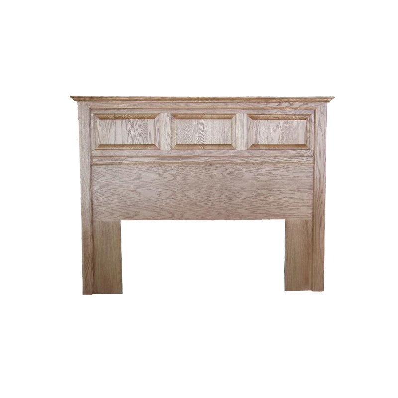 FD-3005H-T - Traditional Oak Raised Panel Headboard - Twin size - Oak For Less® Furniture
