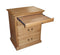 FD-3038T - Traditional Oak 3 Drawer Nightstand with Pullout Tray - Oak For Less® Furniture