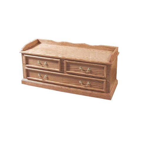 FD-3054T - Traditional Oak Blanket Chest - Oak For Less® Furniture