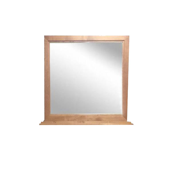 FD-3062 - Contemporary Oak Mirror (matches the FD-3042, 3043, 3044, or 3045 Dresser) - Oak For Less® Furniture
