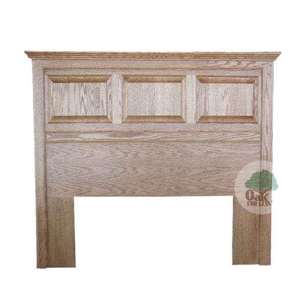 FD-3207H-T - Traditional Oak Raised Panel Headboard - Queen size - Oak For Less® Furniture