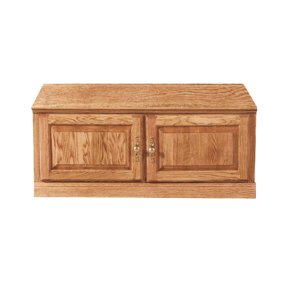 "FD-4111T - Traditional Oak 43"" TV Stand - Oak For Less® Furniture"