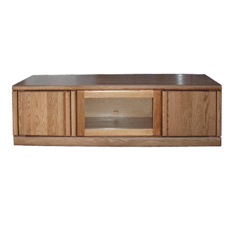 "FD-4114 - Contemporary Oak 60"" TV Stand - Oak For Less® Furniture"