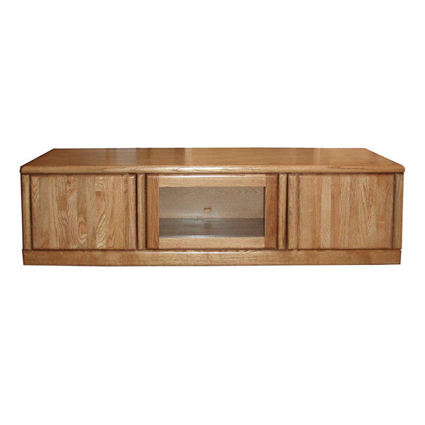 "FD-4115 - Contemporary Oak 67"" TV Stand - Oak For Less® Furniture"