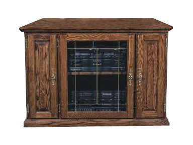 "FD-4121T - Traditional Oak 43"" TV Stand - Oak For Less® Furniture"