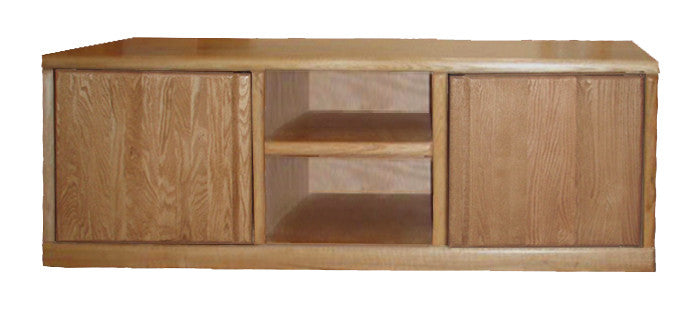 "FD-4133 - Contemporary Oak 67"" TV Stand"