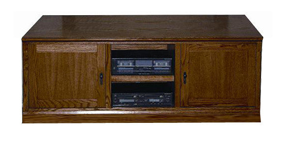 "FD-4133M - Mission Oak 67"" TV Stand - Oak For Less® Furniture"