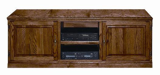 "FD-4133T - Traditional Oak 67"" TV Stand - Oak For Less® Furniture"