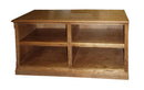"FD-4226M - Mission Oak 72"" TV Stand - Oak For Less® Furniture"