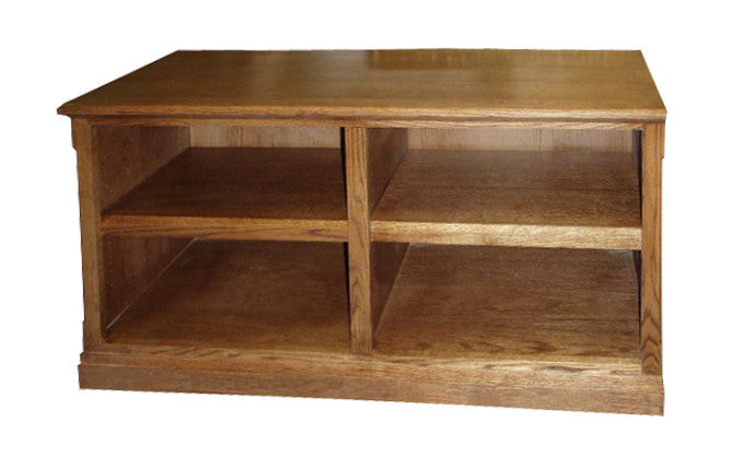 "FD-4224M - Mission Oak 60"" TV Stand - Oak For Less® Furniture"