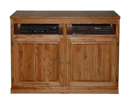 "FD-4512T - Traditional Oak 42"" TV Stand - Oak For Less® Furniture"