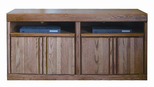 "FD-4515 - Contemporary Oak 60"" TV Stand - Oak For Less® Furniture"