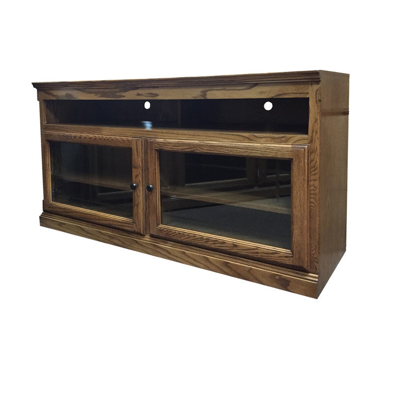 "FD-4614T - Traditional Oak 54"" TV Stand - Oak For Less® Furniture"