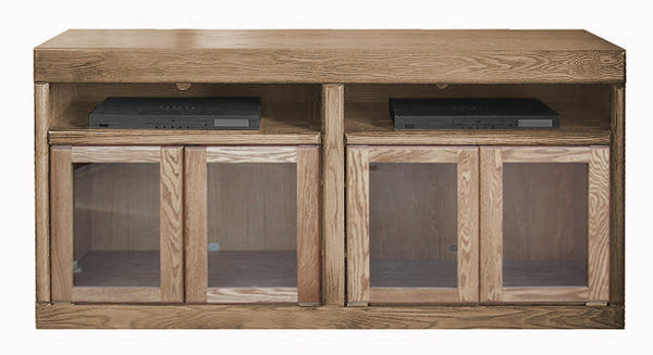 "FD-4615 - Contemporary Oak 60"" TV Stand - Oak For Less® Furniture"
