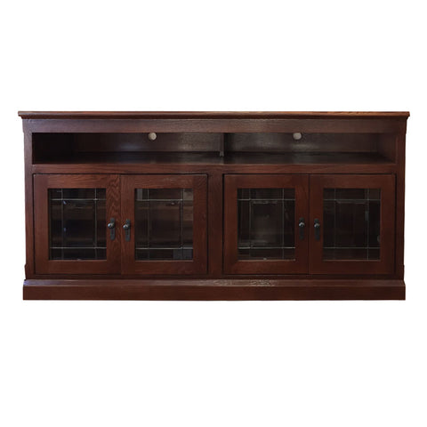 "FD-4615M-clearance Mission Oak 60"" TV Stand - Oak For Less® Furniture"