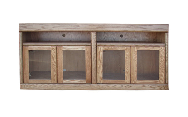 "FD-4616 - Contemporary Oak 66"" TV Stand - Oak For Less® Furniture"