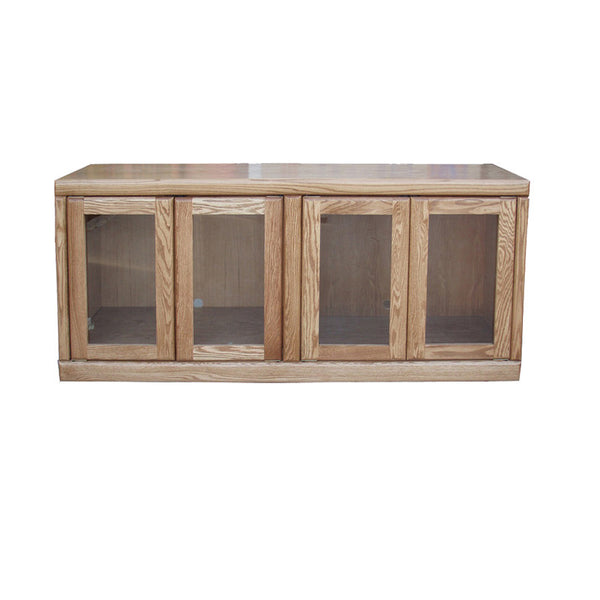 "FD-4925 - Contemporary Oak 60"" TV Stand - Oak For Less® Furniture"