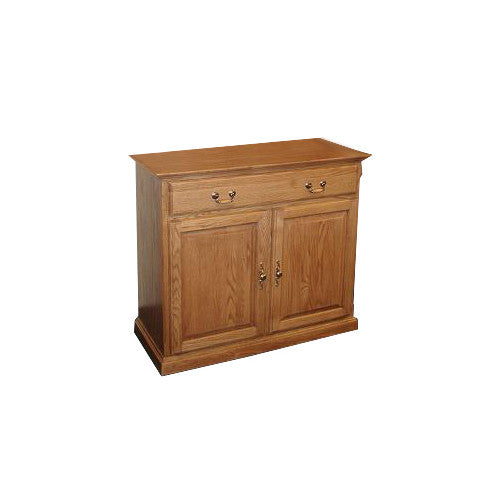 "FD-5042T - Traditional Oak 42"" Buffet - Oak For Less® Furniture"