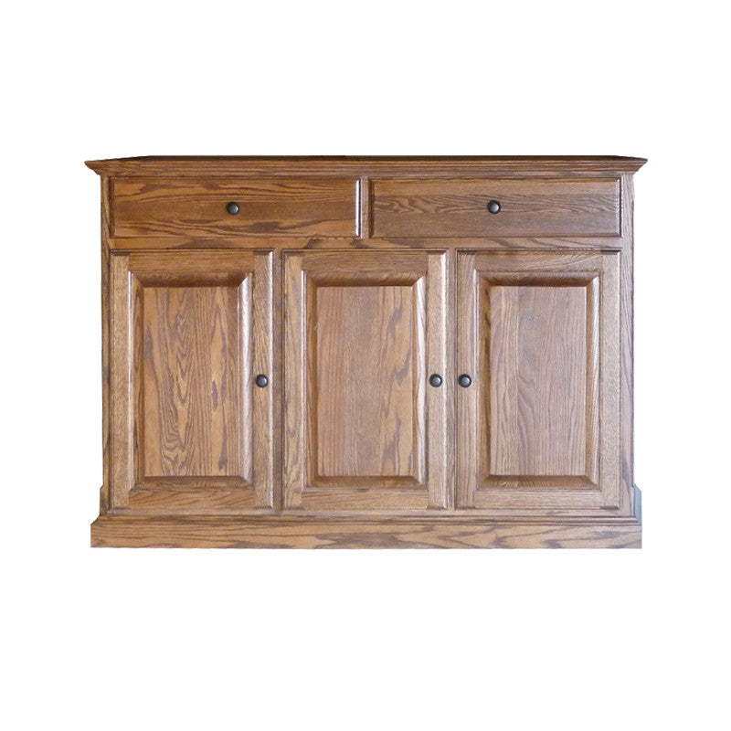 "FD-5054T - Traditional Oak 54"" Buffet - Oak For Less® Furniture"
