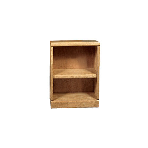 "FD-6100 - Contemporary Oak Bookcase 24"" w x 12"" d x 30"" h - Oak For Less® Furniture"