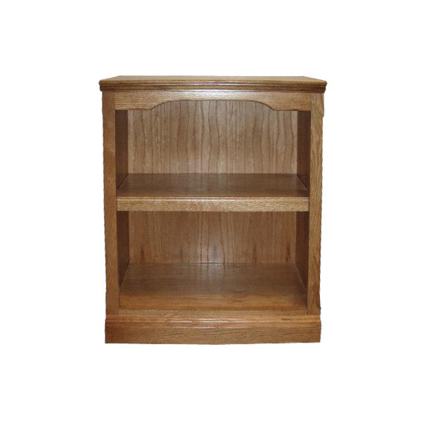 "FD-6100T - Traditional Oak Bookcase 24"" w x 13"" d x 30"" h - Oak For Less® Furniture"
