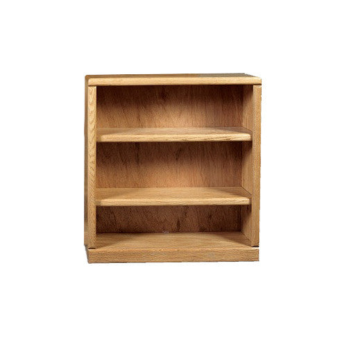 "FD-6121 - Contemporary Oak Bookcase 36"" w x 12"" d x 36"" h - Oak For Less® Furniture"