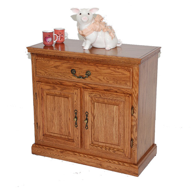 "GS-CL33331B1 - 34"" Promo Buffet - Oak For Less® Furniture"