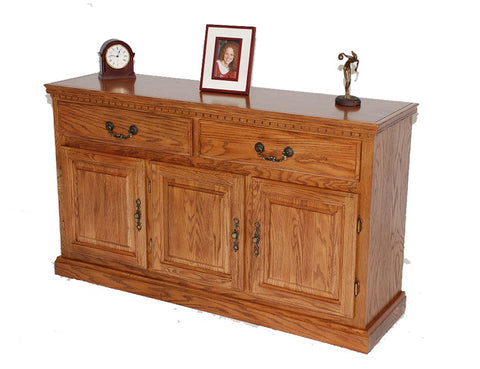 "GS-CL35432B1 - 54"" Promo Buffet - Oak For Less® Furniture"