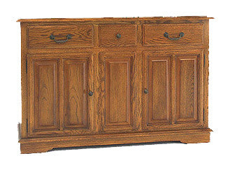 "GS-CL35436B1 - 56"" Premier Buffet - Oak For Less® Furniture"