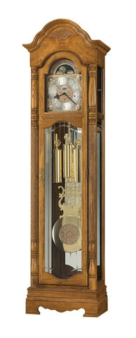 HM-611-202 - Browman Floor Clock - Oak For Less® Furniture