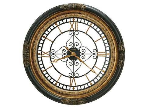 HM-625-443 - Rosario Wall Clock - Oak For Less® Furniture