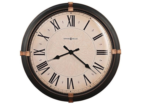 HM-625-498 - Atwater Wall Clock - Oak For Less® Furniture