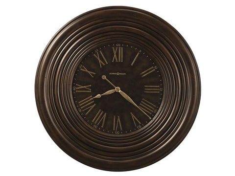 HM-625-519 - Harrisburg Wall Clock - Oak For Less® Furniture