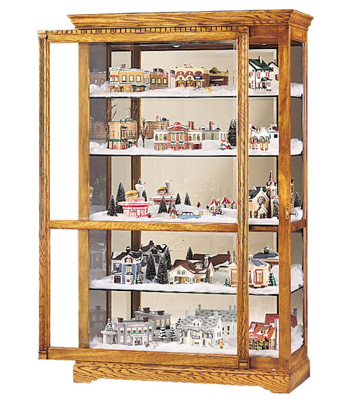 HM-680-237 - Parkview Curio - Oak For Less® Furniture