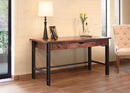 "IFD-866DESK - Parota Collection 60"" Writing Desk - Oak For Less® Furniture"