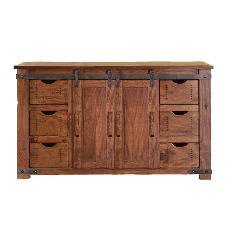 Ifd 866stand 60 Parota Collection 60 Solid Wood Tv Stand With