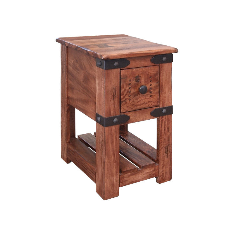 Ifd 867cst Parota Ii Collection Solid Wood Chairside Table