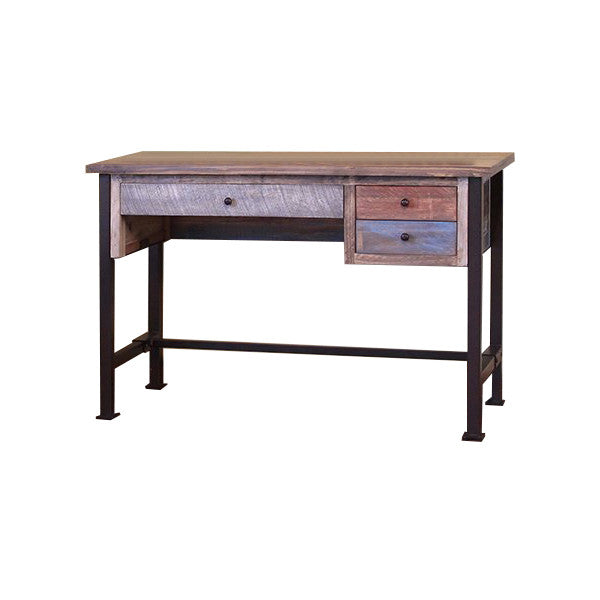 "IFD-968DESK - Antique Collection 48"" Writing Desk - Oak For Less® Furniture"
