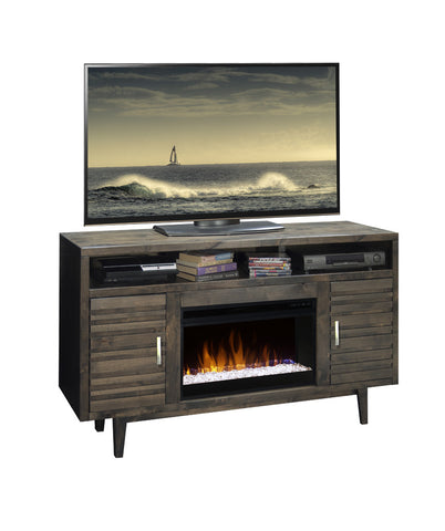 "LG-AV5201 - Avondale 61"" Fireplace TV Stand - Oak For Less® Furniture"